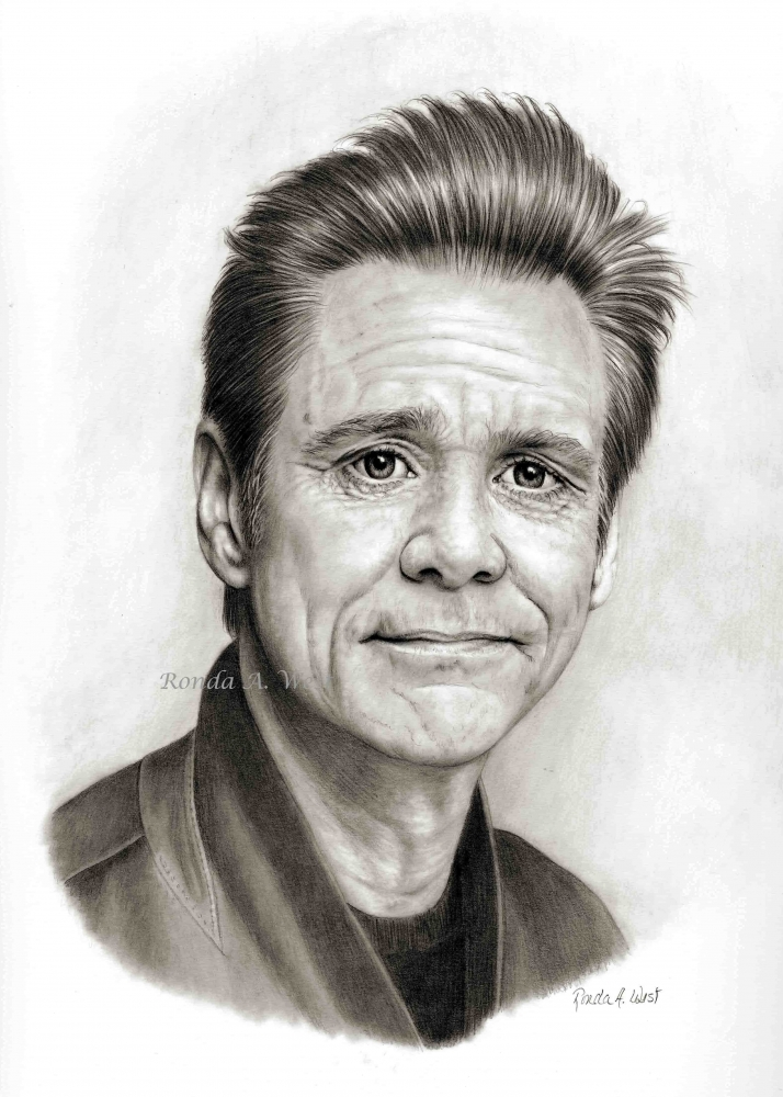 Jim Carrey by rondawest